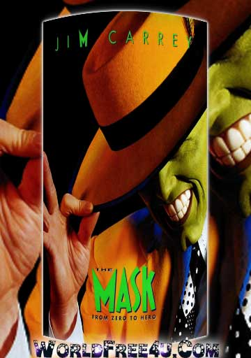 Poster Of The Mask (1994) In Hindi English Dual Audio 300MB Compressed Small Size Pc Movie Free Download Only At worldfree4u.com