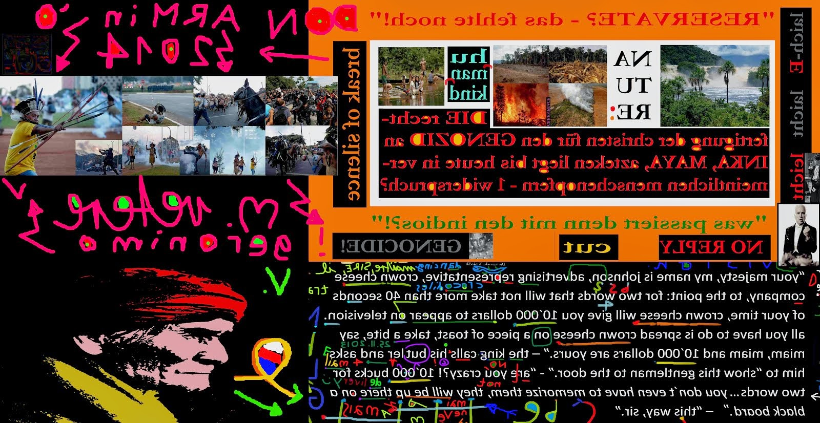 zensur gegen mischa vetere mvart4u 2011 -2014, familienmord vandalsimus körperverletzung diskriminA