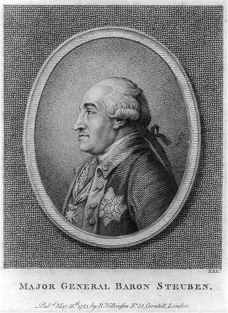 account of the life of prussian baron von steuben