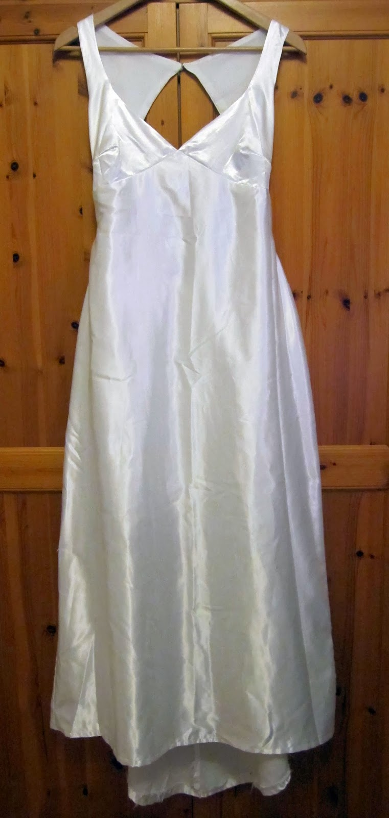 Hips too big for wedding dress