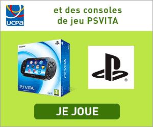 Jeu concours : Gagnez des séjours, des consoles PSVITA...
