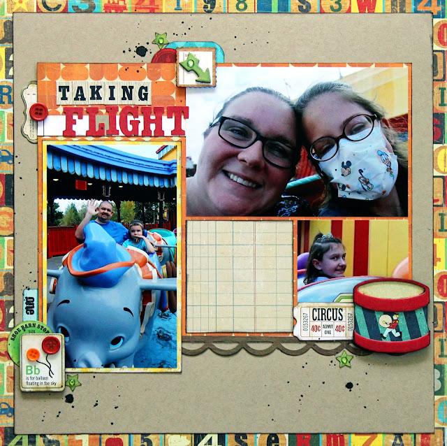Dumbo_Ride_Disney World_Scrapbook_Magic Kingdom