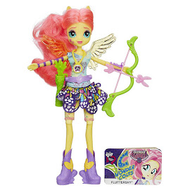 MLP Equestria Girls Friendship Games Sporty Style Deluxe Fluttershy Doll