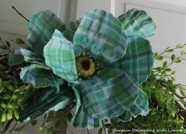 Simple Summer Wreaths-Bargain Decorating with Laurie