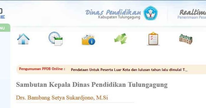 Cara Melihat Hasil Pendaftaran Ppdb Online Tulungagung Smpn 1 Pucanglaban