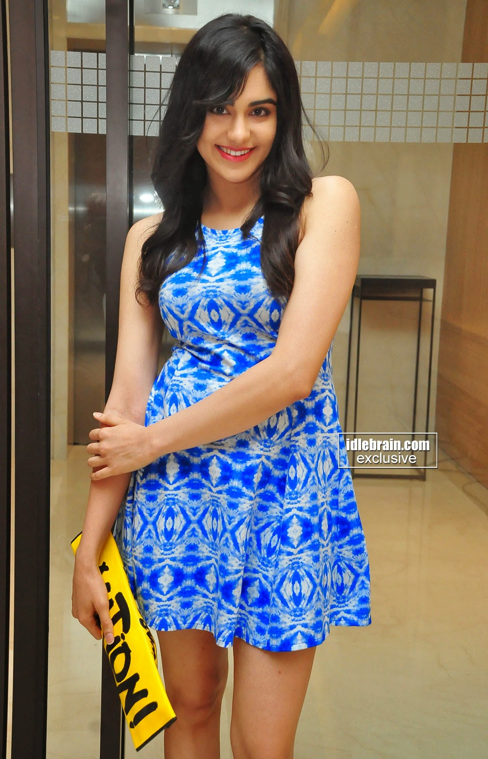 Adah Sharma mini dress
