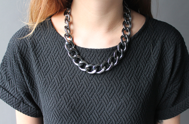 River Island chain necklace