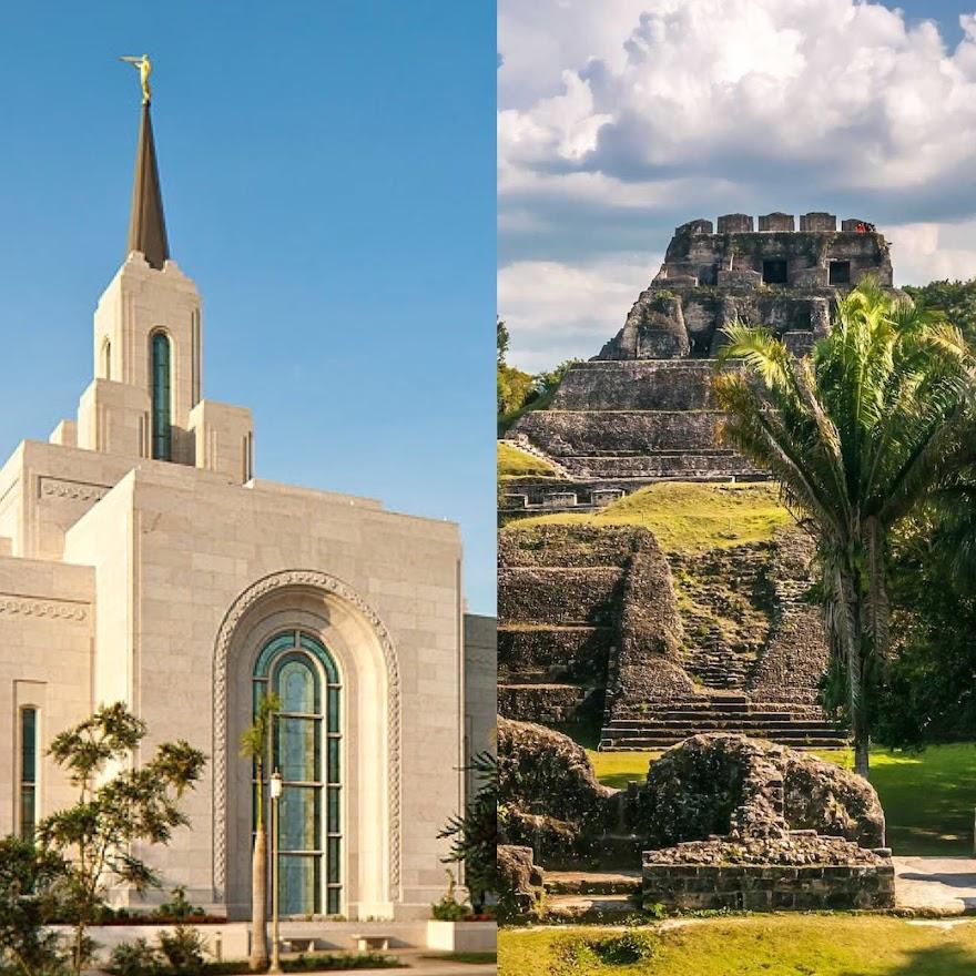 San Salvador El Salvador Temple/ Belize Mayan Temple