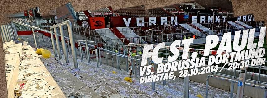 O tão esperado jogo entre FC St. Pauli e o Borussia Dortumund é amanhã!
