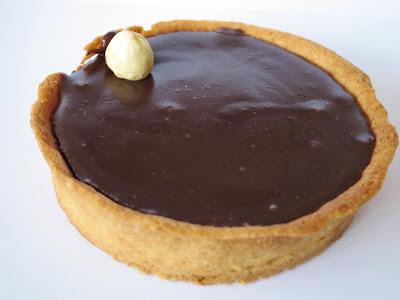 Pascal Guerreau et la pâtisserie Tholoniat - Tarte au chocolat