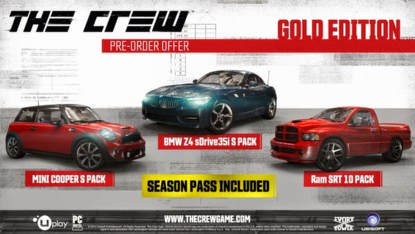 download  THE CREW PC GOLD EDITION MAXAGENT