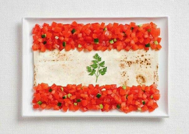 bandera de libano