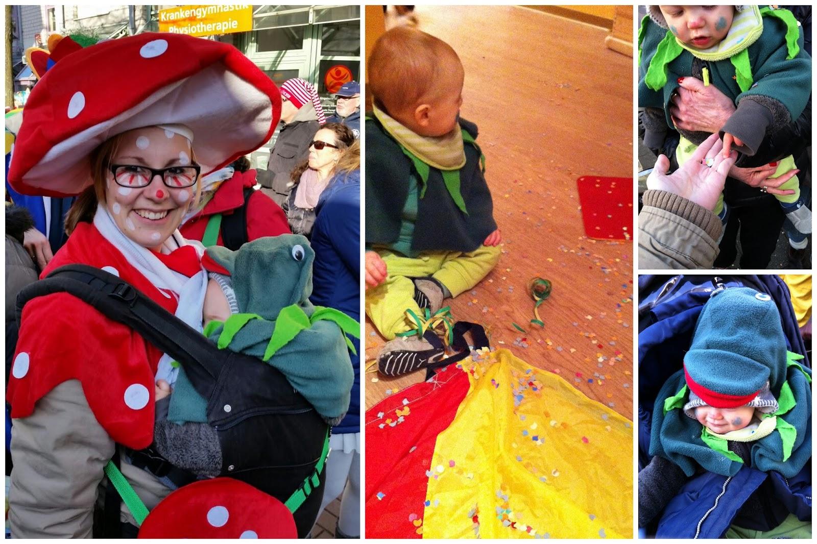 Mini-Jeck erstes Karneval in Koeln