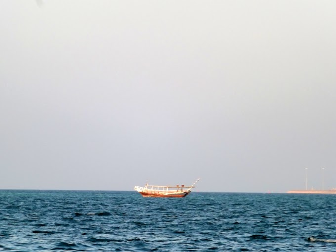 DHOWS CRUISE TRIP-Traditional wooden boats or dhows