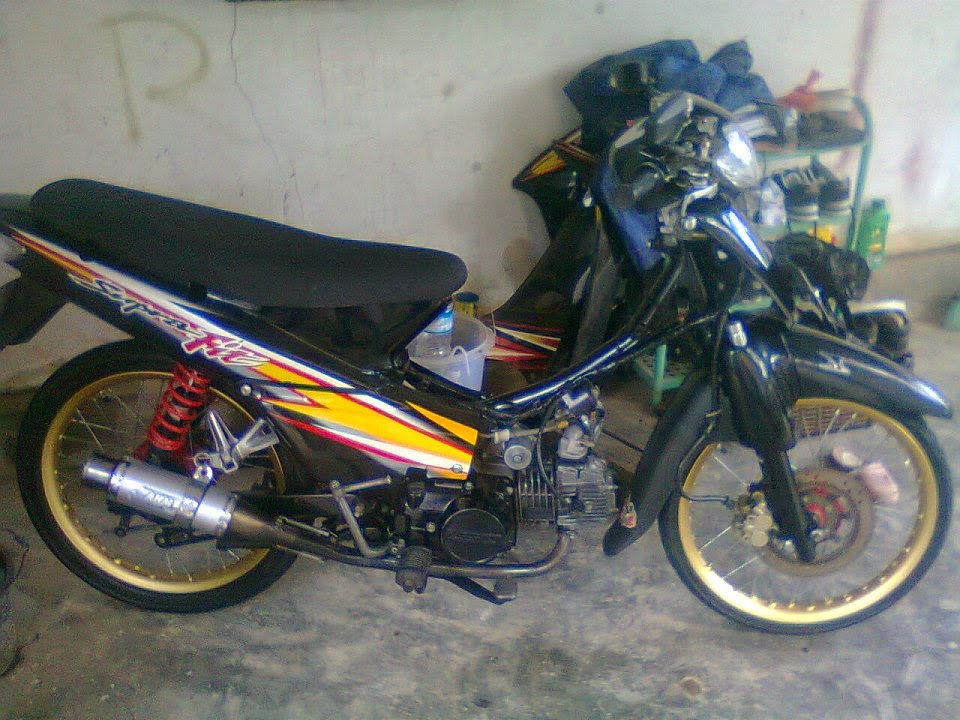 foto modifikasi supra fit 2006