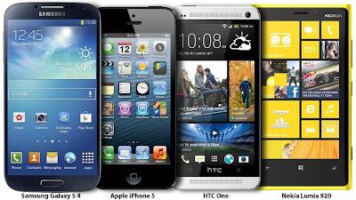 2013 Smartphones Comparison