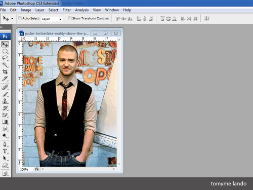 Mengubah Background Foto dengan Photoshop