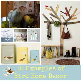 The Blue Birdhouse 10 Examples Of Bird Home Decor
