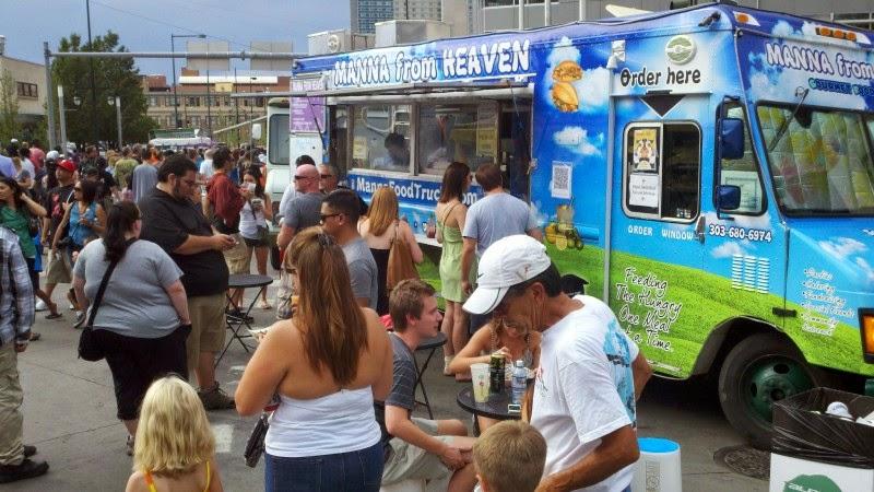 contraste food truck