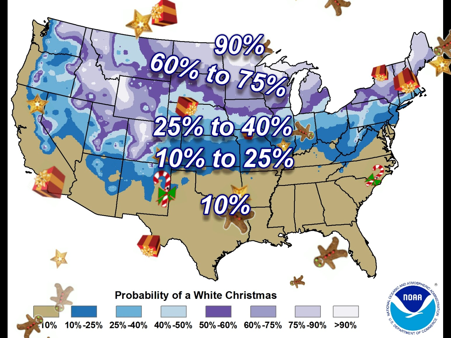Justin's Indiana Weather Blog: Are You Dreaming Of A White Christmas?