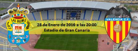 Previa Copa del Rey UD Las Palmas - Valencia CF