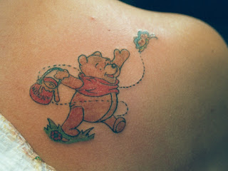 Winnie The Pooh Tattoo Design Photo Gallery - Winnie The Pooh Tattoo Ideas