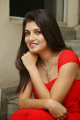 Priyadarshini Glam Pics in Red at Dillunnodu audio-thumbnail-12