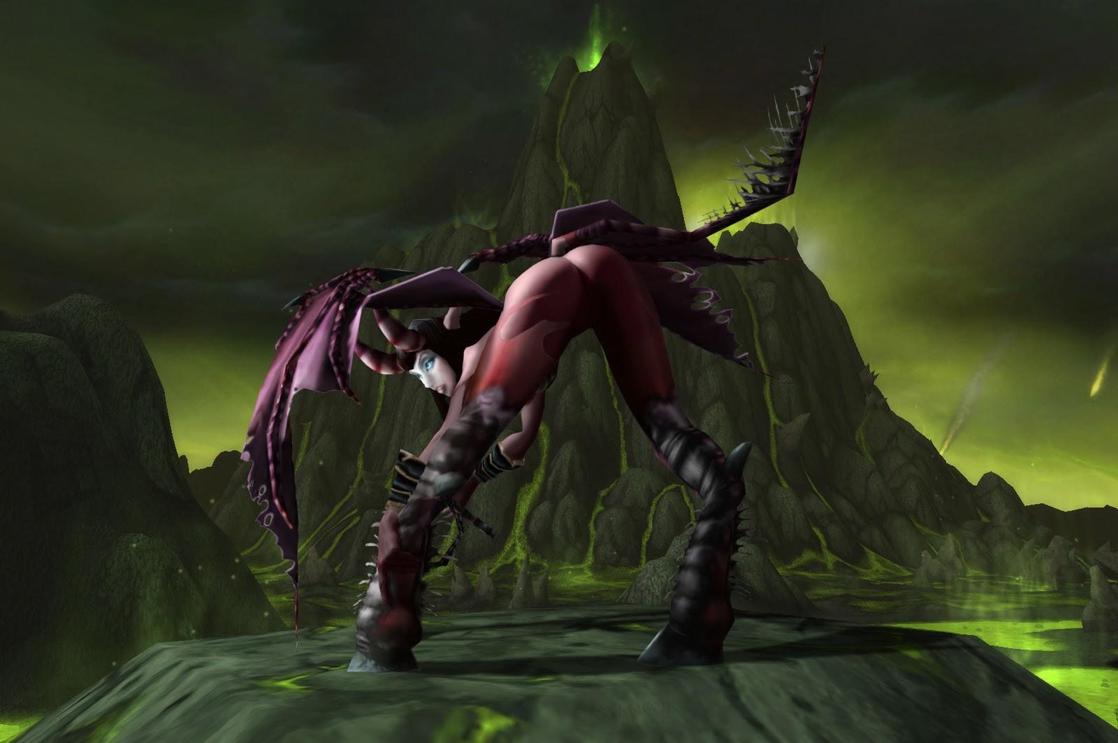 Bloodelf and nightelf sexfuck porncraft picture