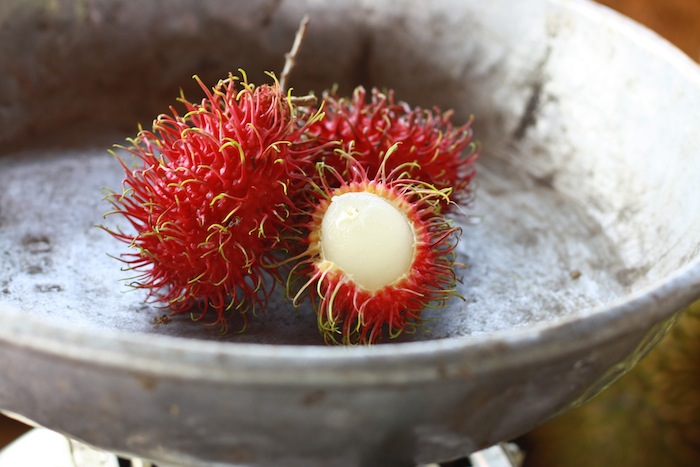 red rambutan for sale Balik Pulau Penang