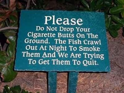 Funnypictures: Cigarette Smoking Funny Signs And Sayings Boards