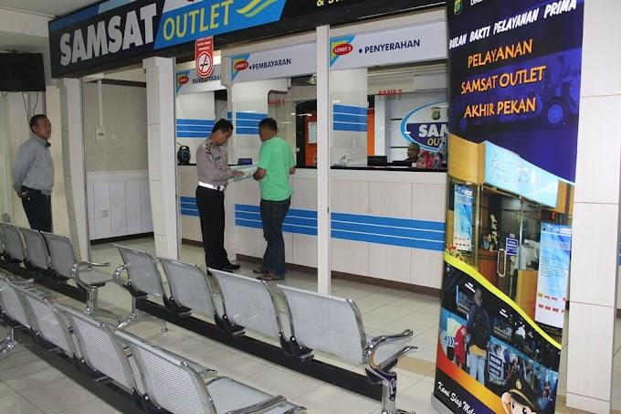 HUT Bhayangkara, Outlet Samsat ITC Depok Buka Hingga Malam