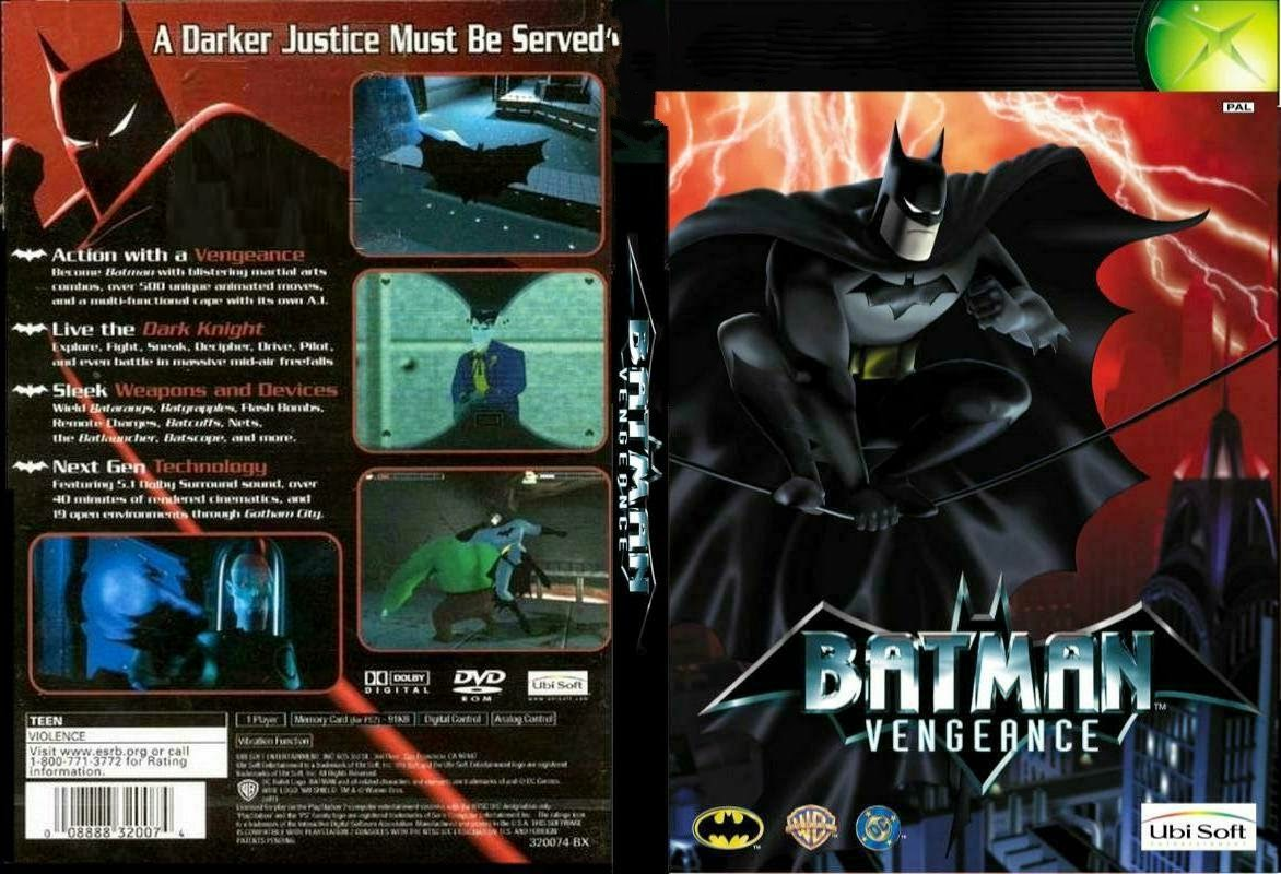 تحميل لعبة Batman vengeance برابط واحد