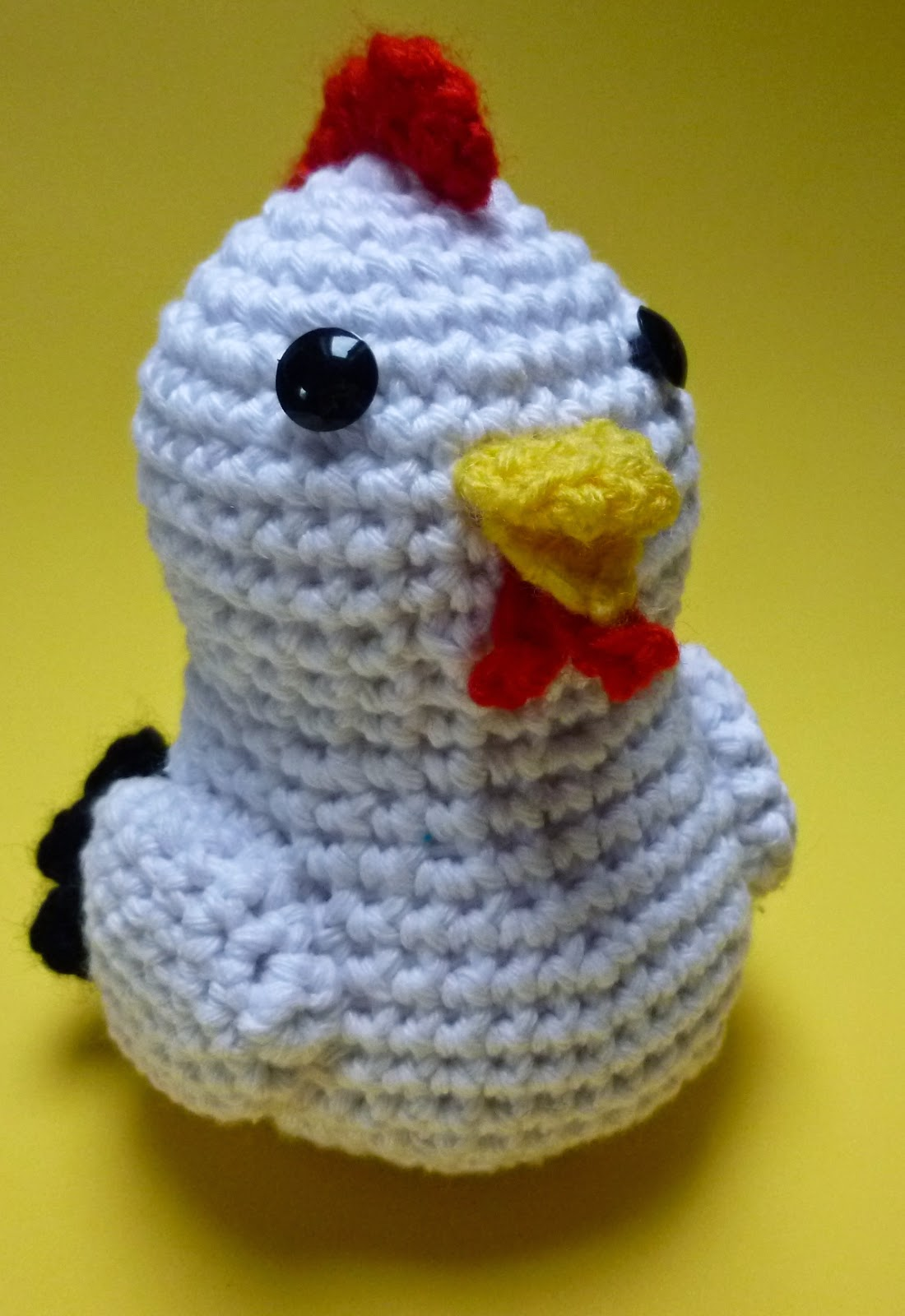 Amigurumi Chicken Pattern : Pattern Amigurumi Chicken