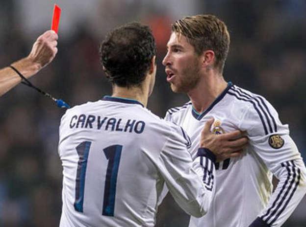La expulsión de Sergio Ramos durará cinco partidos