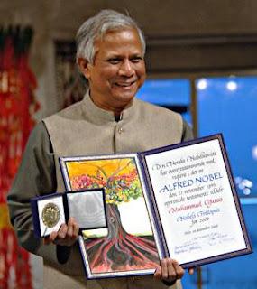 Muhammad Yunus banquier pauvres grameen bank bangladesh