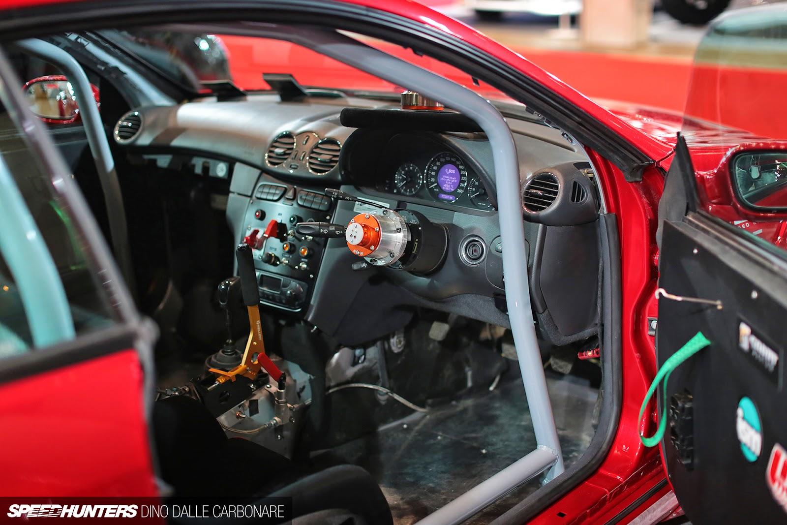 Mercedes Benz Clk63 Rocket Bunny Widebody Red Benztuning