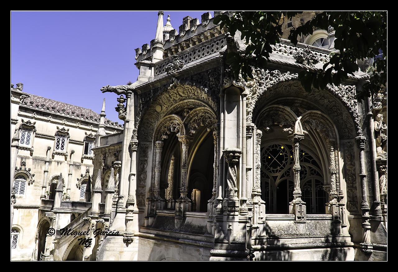 Luso Portugal  city pictures gallery : Palacio de Buçaco, Luso Portugal . Nikon D90. D.f. 18 mm., 1/320 s ...