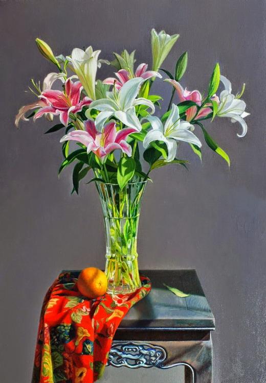 Im genes arte pinturas los mas lindos cuadros florales y for Fotos para cuadros de salon