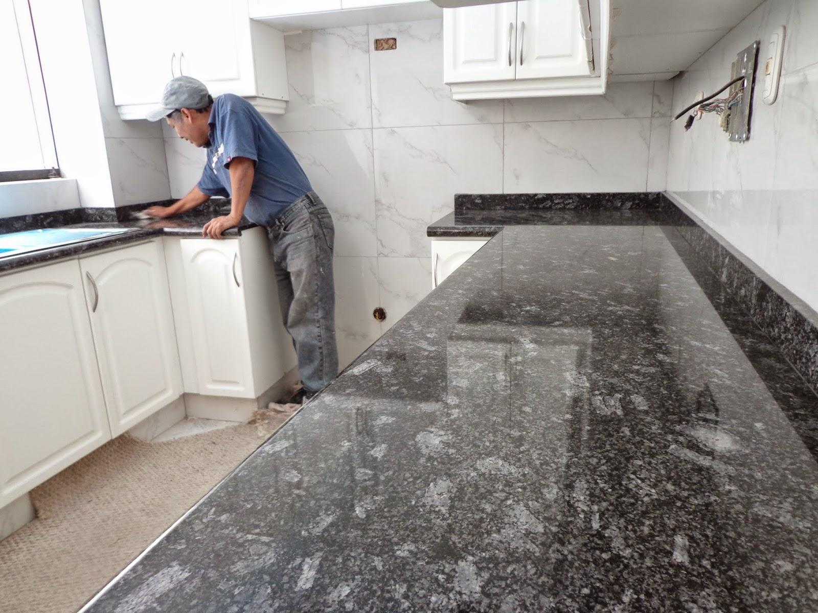 Encimeras cubiertas mesas islas cocina marmol granito lima for Encimera cocina marmol o granito