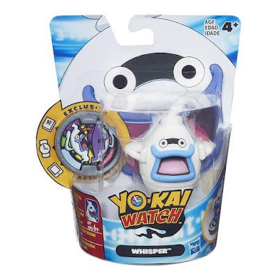TOYS : JUGUETES - YO-KAI WATCH  Whisper : Figura - Muñeco + Medalla para reloj  Serie Televisión - Videojuego 2016 | Hasbro B5939 | A partir de 4 años
