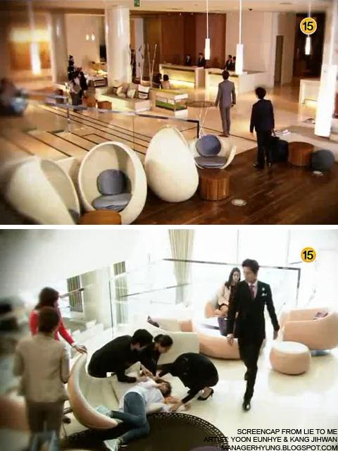 Korean drama Lie To Me in Walker Hill Hotel