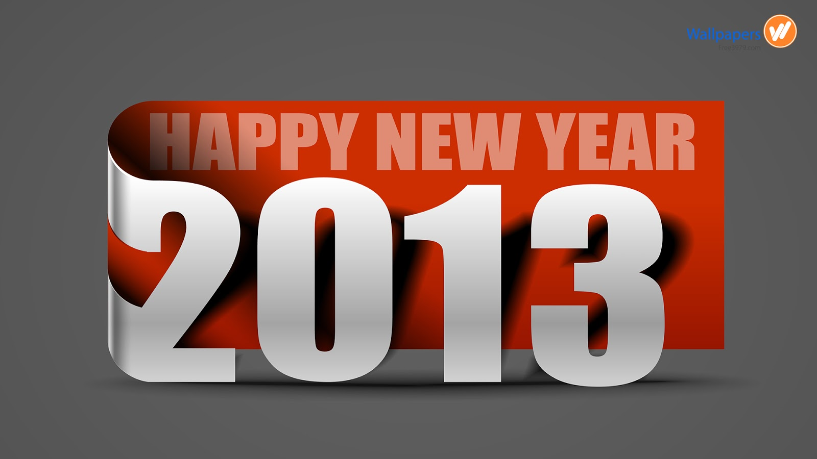 New Happy New Year 2013 wallpaper