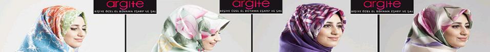 Argite Eşarp - Kişiye Özel El Boyama Eşarp ve Şal
