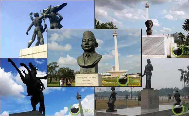 5 Patung Pahlawan yang Terpajang Disekitar Monumen Nasional (Monas)