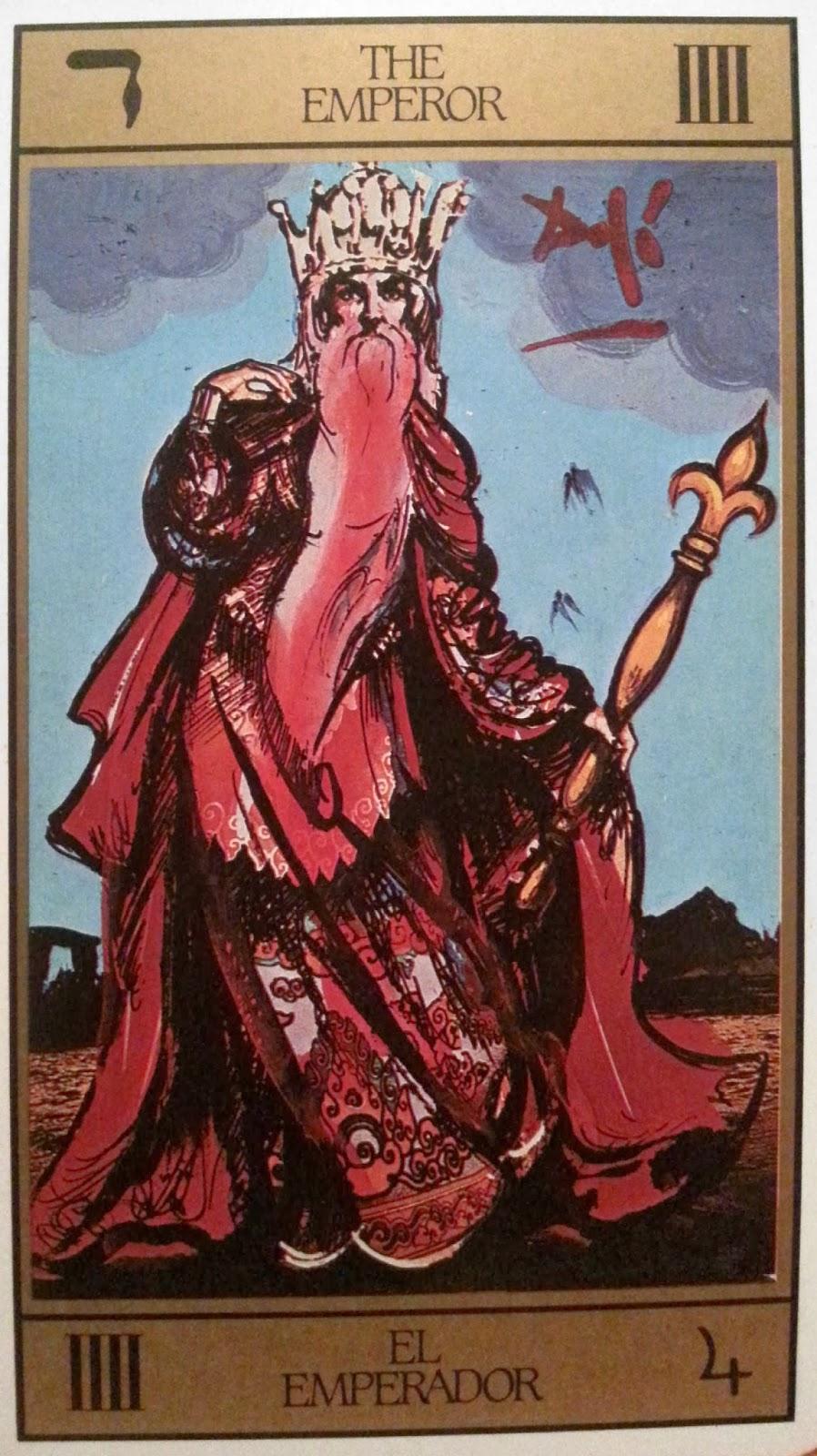 El Emperador- Tarot Dalí