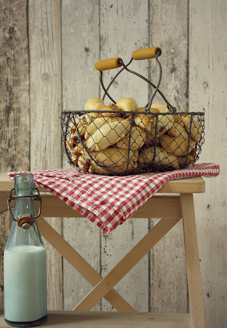 Rogaliki z ciasta ziemniaczanego