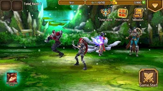 Screenshots of the LOL Last attack global for Android tablet, phone.