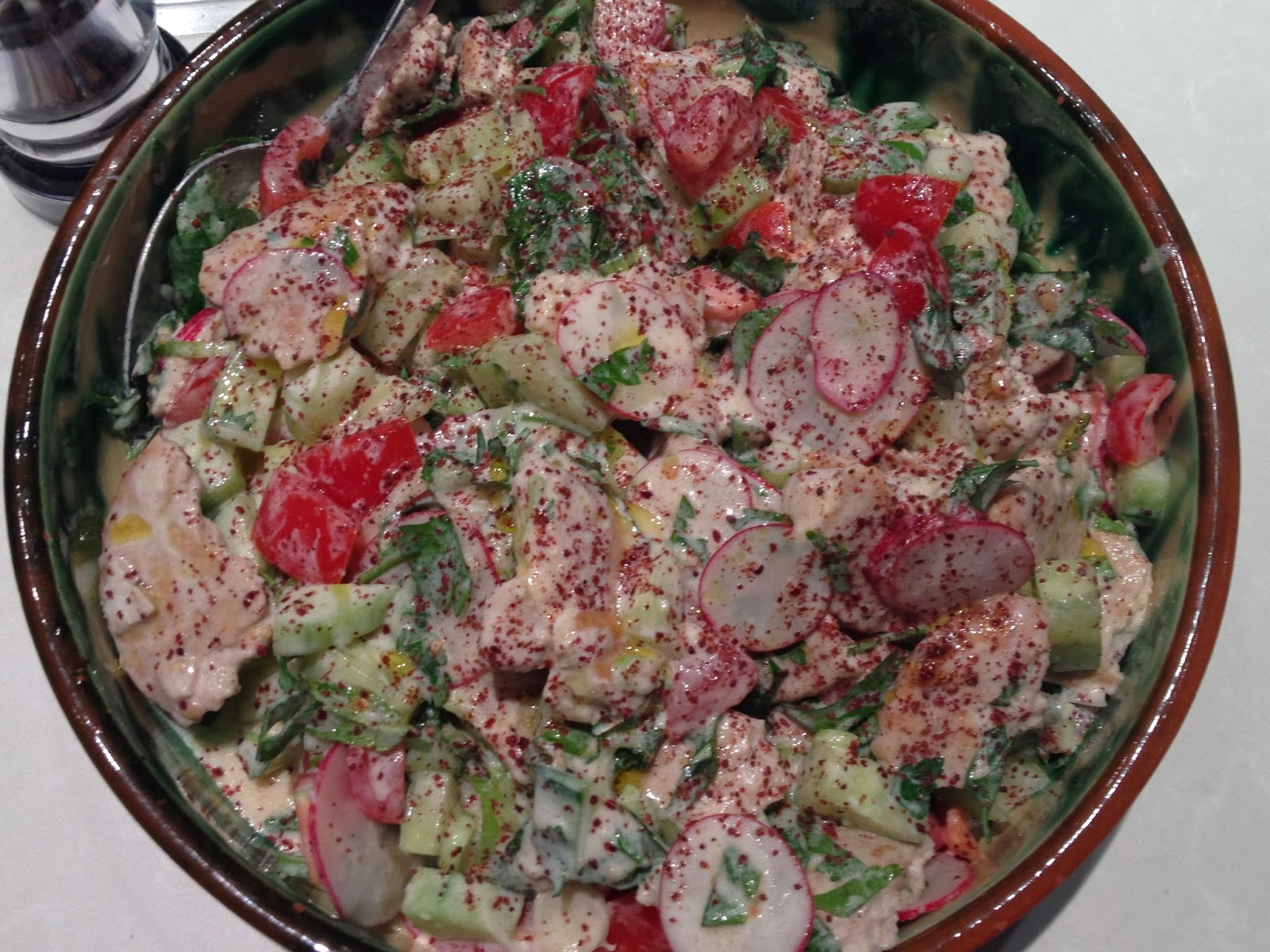 The Family Cook Book: Jerusalem night no.1. Na'ama's Fattoush