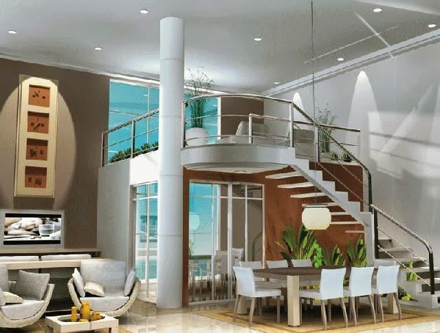 Ocupan dos apartamentos de lujos en santiago propiedad de - Recibidores de casas modernas ...