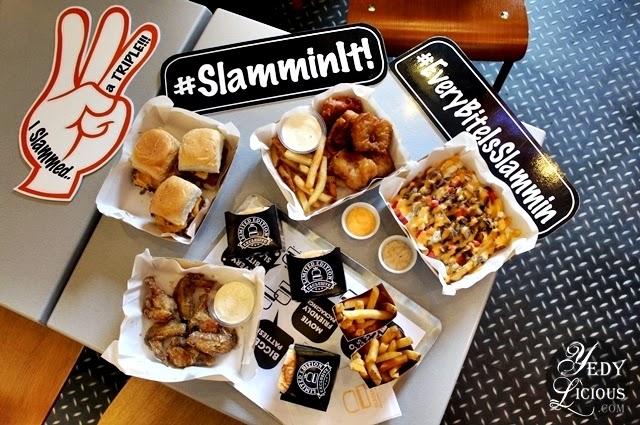 Slammin' Mini Burgers, Fries, and Dips Promenade Greenhills, Burger Sliders,